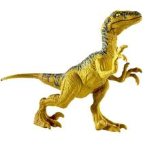 Figura Dinossauro Articulada - Velociraptor Delta - 12 cm - Dino Rivals - Jurassic World - Mattel -