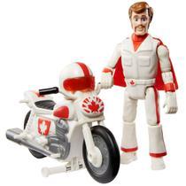 Figura Duke Caboom com Motocicleta Toy Story - Mattel -