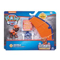 Figura e Mini Veículo - Patrulha Canina - Resgate Extremo - Zuma & Hang Glider - Sunny -