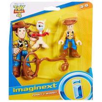 Figura Imaginext Toy Story Garfinho e Woody - GBG89 -Mattel -