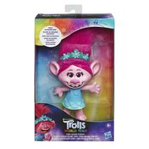 Figura Musical - Trolls World Tour - Pop Music Poppy - Hasbro