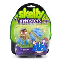Figura Skelly Monsters - Chuck/Lob-Star - DTC -