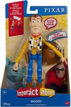 Figura Woody Interactables Toy Story Mattel -