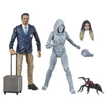 Figuras Colecionáveis - Disney - Marvel - Legends Series - Ant-Man  Wasp - Luis e Ghost - Hasbro