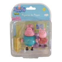 Figuras da Peppa - Papai Pig e Peppa Pig 2300 - Sunny -