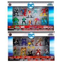 Figuras DC Bonecos DC Comics Batman Superman Flash Mulher - Jada Toys