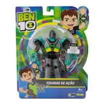 Figuras De Ação Ben 10 - Boneco Armadura Omni - Kix Diamante - Original Sunny - Playmates Toys