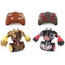 Figuras Eletrônicas de Controle Remoto - Robo Kombat Vikings - Silverlit - DTC -