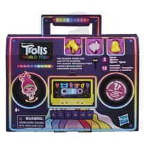 Figuras Interativas com Acessórios - DreamWorks - Trolls - World Tour - Pequenos Dançarinos Surpresa - Hasbro -