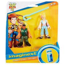 Figuras Toy Story 4 - Combat Carl E Bo Peep - Mattel - -