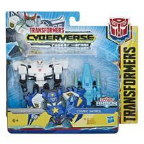 Figuras Transformáveis - Transformers Cyberverse - Prowl e Cosmic Patrol - Hasbro -