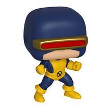 Figure Boneco Cyclops Scott Sumers Laser Marvel Vinil 9,5cm Edição Especial 80 Anos Decoração Colecionável FunkoPop! - Funko Pop