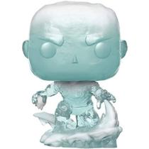 Figure Boneco Iceman First Appearence Geek Marvel Vinil Edição Limitada 9,6cm Decoração Colecionador FunkoPop! - Funko Pop
