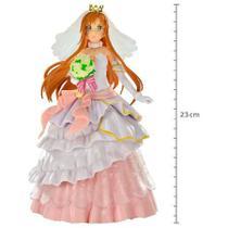 Figure sword art online code register - asuna wedding - coleção noivas ref.28570/28571 - Bandai Banprest