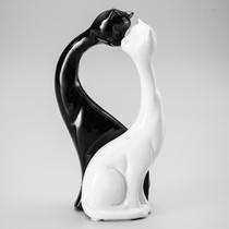 Figurino de Gatos Manhosos Black and White - Prestige