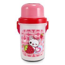 (FILHOTINHOS) Squeeze 450ml Infantil Menina - Jacki design
