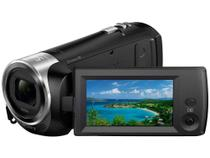 Filmadora Digital Full HD Sony HDR-CX240  - Zoom Óptico 27x Conexão USB Micro USB HDMI