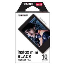 Filme instantâneo Fujifilm Instax Black com 10 poses FILMEBLACK10 - Fujifilm*