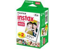 Filme Instantâneo Fujifilm Instax Mini  - Branco 20 Poses -