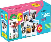 Filme instantaneo fujifilm instax mini caixa 100 fotos -