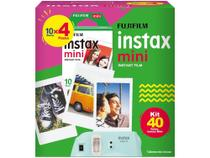 Filme Instantâneo Fujifilm Instax Mini - com 40 Poses -