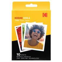Filme Instantâneo Kodak Zink Photo Paper com 10 poses -