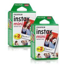 Filme Instax Mini Instantâneo Fujifilm - 40 Fotos -