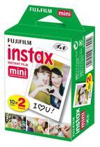 Filme Instax Mini Instantâneo Fujifilm com 20 Unidades -
