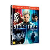 Filmes Box DVD - Coleção Star Trek Trilogia 3 Discos BFI-045 - Paramount