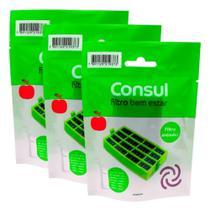 Filtro Anti odor Bem Estar Refrigerador Consul W10515645 Original 3un -