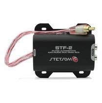 Filtro Anti Ruido Stetsom STF-2 para DVD CD Player MP3 Módulo Amplificador RCA Som Automotivo -
