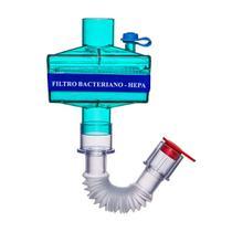 Filtro Bacteriano HEPA (BECARE) - Ventilação Mecânica -