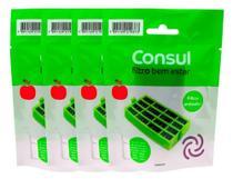 Filtro Bem Estar Anti odor Refrigerador Consul W10515645 Original 4un -