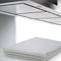 Filtro Branco para Coifa/ Exaustor 80x60cm / para fogão de 4 a 6 bocas- 4 unidades - Vb Home
