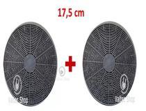 Filtro Carvão Coifa Mallory  17,5 Cm 1 Par (Compare medidas) -
