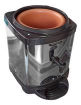 Filtro de Água Suporte para Galão de Água Inox com Cuba De Barro Cerâmica - Acquamar