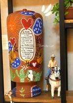 Filtro de barro Coração do Vaqueiro - Tom De Giz