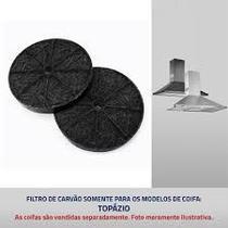 Filtro de carvão ativado para coifa Suggar Topazio -