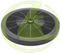 Filtro de Carvão Ativado para Depurador Electrolux De80x De60b De60x -