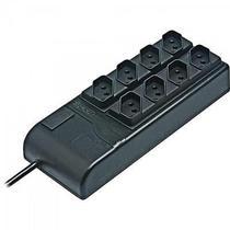 Filtro de Linha SLIM 8 TOMADAS Bivolt Automático Preto RCG -