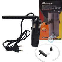 Filtro Interno Sunsun Jp-032f Com Chafariz 350l/h -