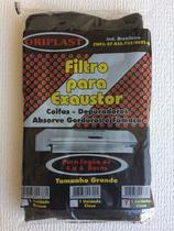Filtro / manta para exaustor / coifa kit c/4 unidades cinza - ORIPLAST