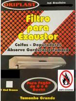 Filtro Manta Para Exaustor / Depurador / Coifa Universal Branco - Oriplast -
