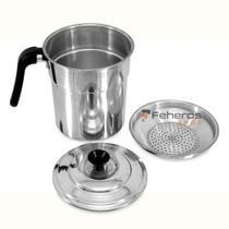 Filtro Para Óleo de Cozinha 1,3 Litros Alumínio Polido C/Orla - ASC