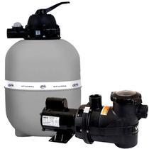Filtro para Piscina até 112.000 Litros GRE 700 com Bomba 1,5 CV Bivolt Veico by Fluidra -