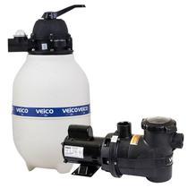 Filtro para Piscina até 30.000 Litros com Bomba 1/3 CV c/ Pré-Filtro FLUIDRA -