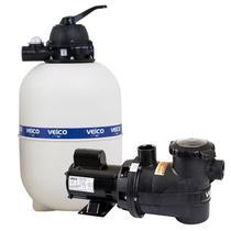 Filtro para Piscina até 42.000 Litros com Bomba 1/2 CV c/ Pré-Filtro FLUIDRA -