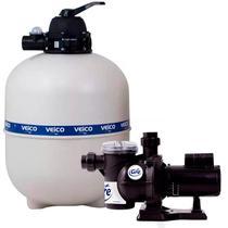 Filtro para Piscina até 70.000 Litros com bomba 3/4 CV c/ Pré-Filtro FLUIDRA -