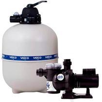 Filtro para Piscina até 86.000 Litros com bomba 1,0 CV c/ Pré-Filtro FLUIDRA -