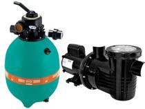 Filtro para Piscina DFR-15-7 + Bomba PF-17 1/2CV 110/220V - Dancor -